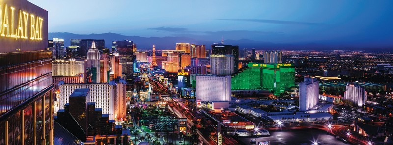 How did Las Vegas become such a glamorous destination-photos gallery