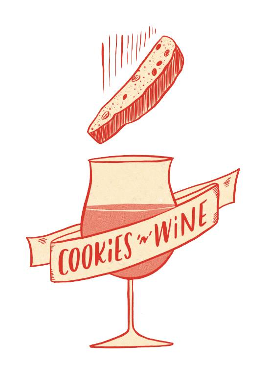 How to drink like a millionaire education book - Learn how to dunk your #cookies in #wine in chapter 33 of #DrinkLikeABillionaire