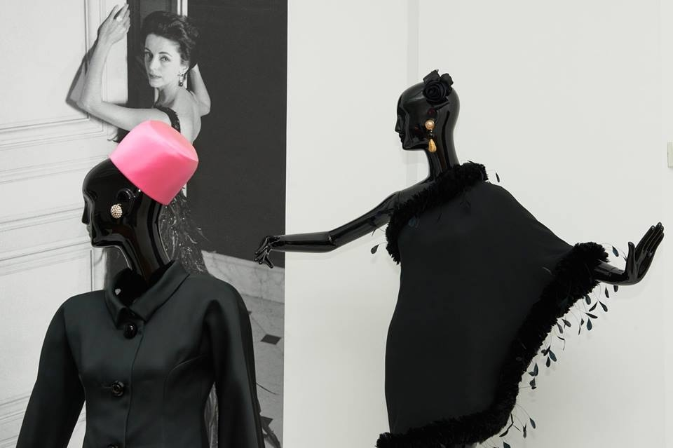 Hubert de Givenchy. To Audrey with Love exhibition 2017 - a cocktail dress from 1968
