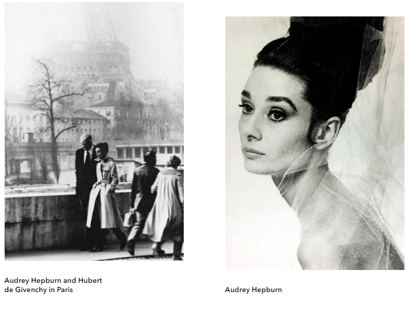 Hubert de Givenchy. To Audrey with Love exhibition 2017