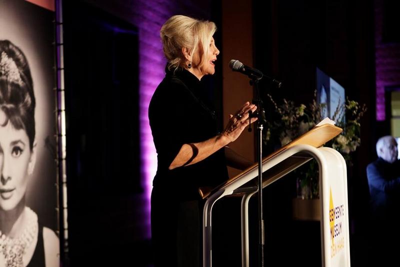 Hubert de Givenchy. To Audrey with Love exhibition - UNICEF AMBASSADOR MONIQUE VAN DE Ven, spoke at the opening