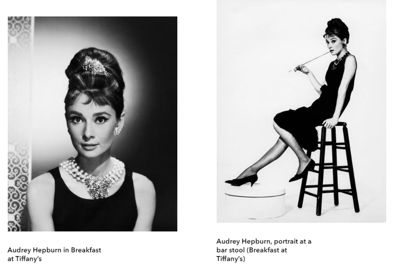Hubert de Givenchy. To Audrey with Love exhibition photos