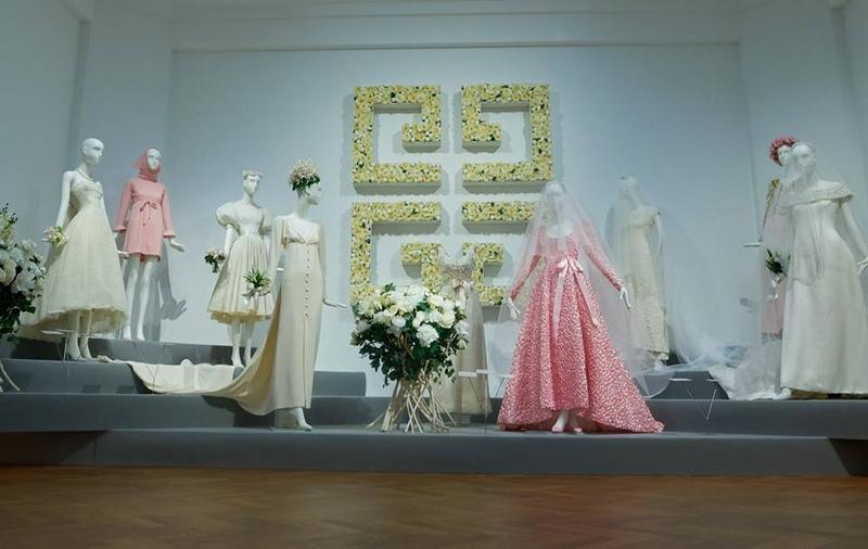 Hubert de Givenchy. To Audrey with Love exhibition - wedding dresses of Audrey Hepburn