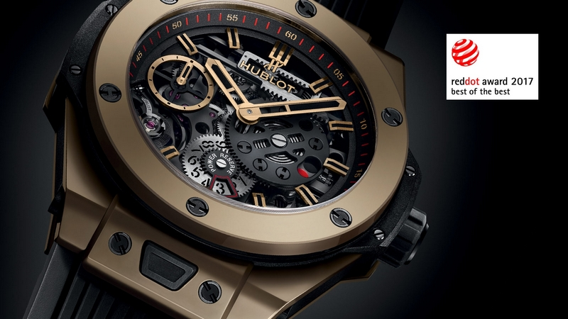 Hublot Big Bang Meca-10 Magic Gold watch has won first prize in the Best of the Best category at the Red Dot Awards 2017