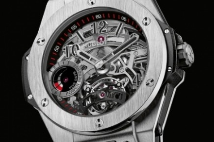 Big Bang Tourbillon 5-Day Power Reserve Indicator – Hublot's first tourbillon in the new-generation Big Bang line
