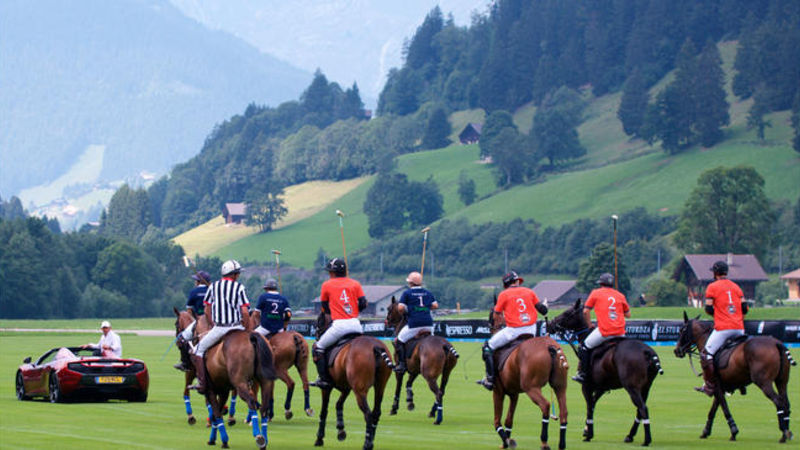 Hublot Polo Gold Cup in Gstaad--