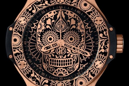 Hublot is paying tribute to one of the most popular holidays in Mexico, El Día de los Muertos