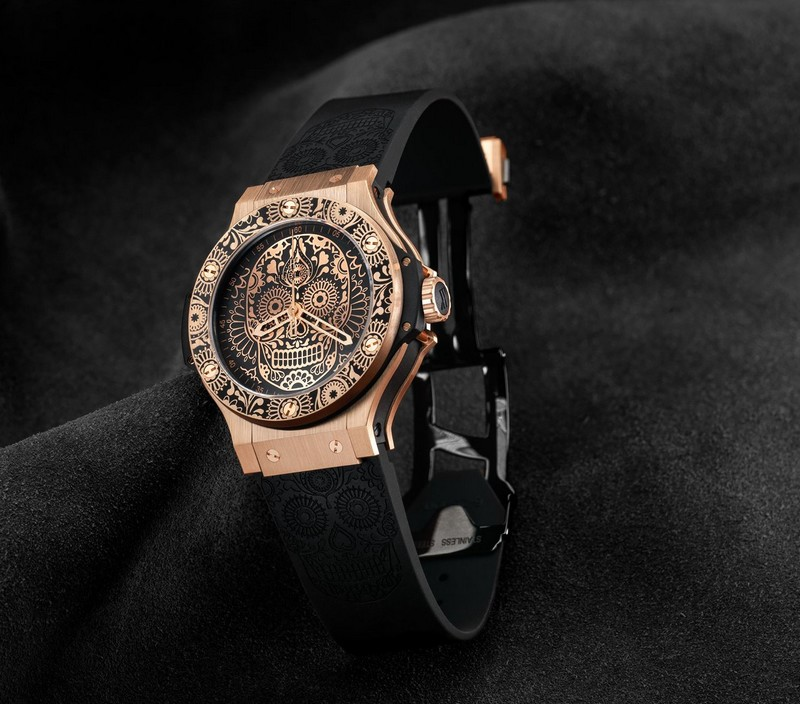 Hublot is paying tribute to one of the most popular holidays in Mexico, El Día de los Muertos - 2017 - Calaveras watch