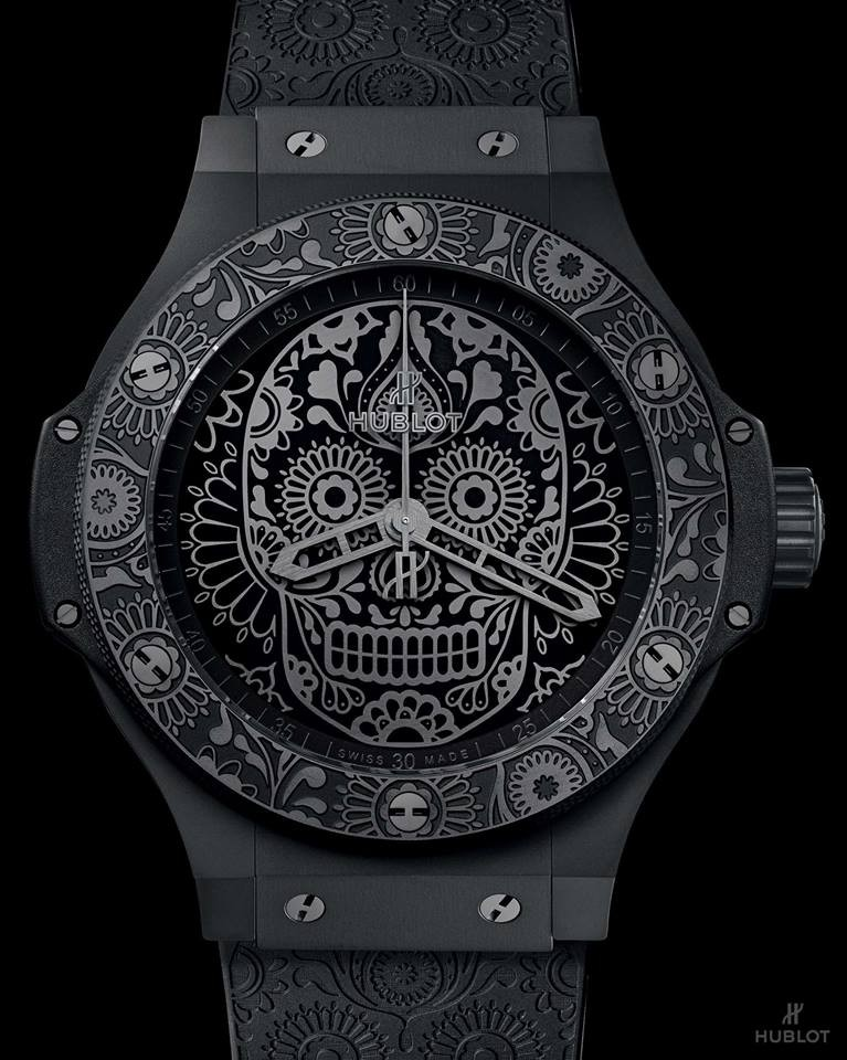 Hublot is paying tribute to one of the most popular holidays in Mexico, El Día de los Muertos - 2017 - Hublot Calaveras watch