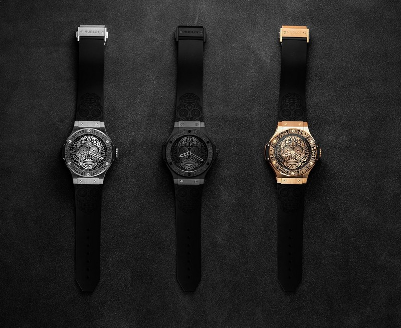 Hublot is paying tribute to one of the most popular holidays in Mexico, El Día de los Muertos - 2017 watches