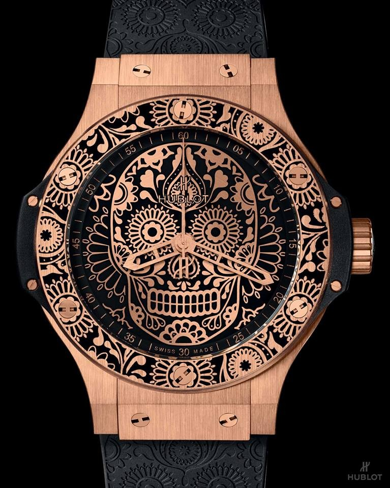 Hublot is paying tribute to one of the most popular holidays in Mexico, El Día de los Muertos - 2017