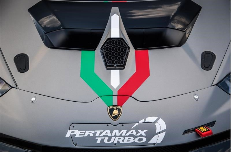 Huracán Super Trofeo Evo 10th Edition-2018 edition-front