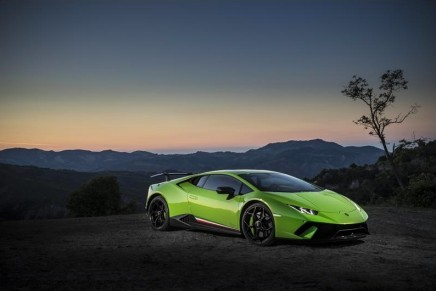 Huracán Performante gracing the 2017 Concept Lawn at Pebble Beach Concours d'Elegance