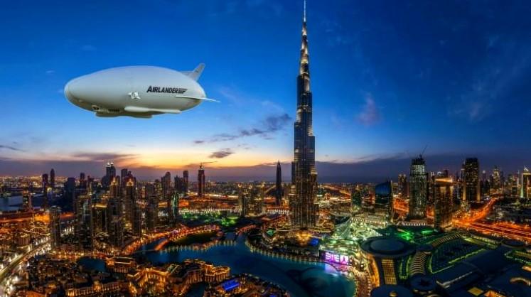 Hybrid Air Vehicles Airlander 10-dubaiairshowrenderings