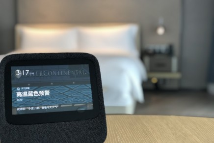 InterContinental introduces AI Smart Rooms. Where it's going next