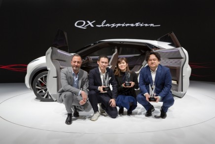 Electric ambition: Step inside the QX Inspiration, the first fully-electric concept car from Infiniti