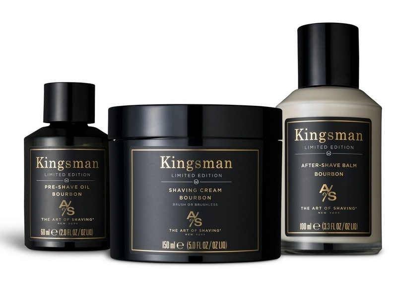 INTRODUCING KINGSMAN THE GOLDEN CIRCLE BOURBON SHAVE COLLECTION