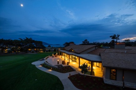 It's open! You can now stay on the famed first hole of Pebble Beach Golf Links