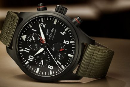 The new IWC Top Gun watch will withstand the extreme strain that pilots experience in supersonic jets