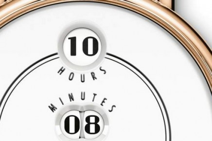 IWC's first-ever wristwatch with jumping numerals pays tribute to the historical Pallweber pocket watches