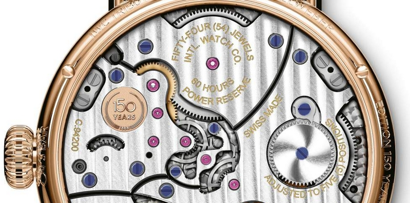 IWC Tribute to Pallweber Edition 150 Years -2019 edition timepiece