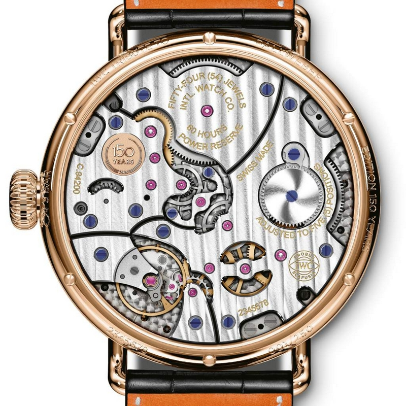 IWC Tribute to Pallweber Edition 150 Years -2019 edition