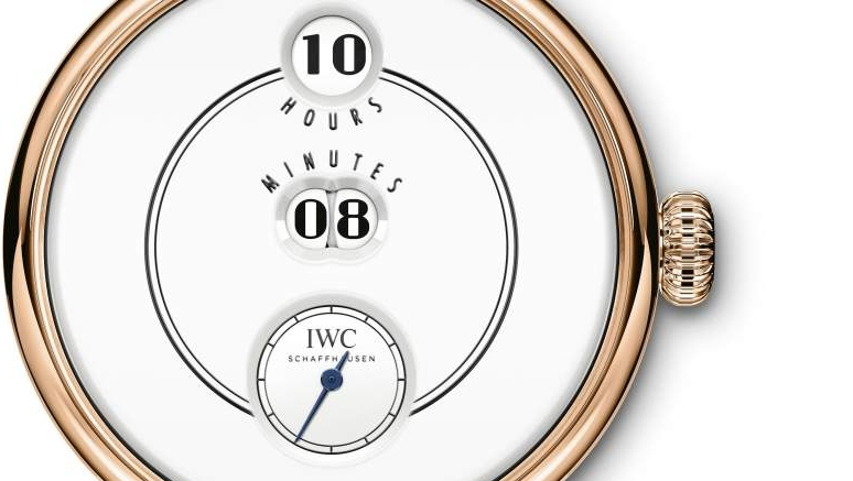 IWC Tribute to Pallweber Edition 150 Years watch