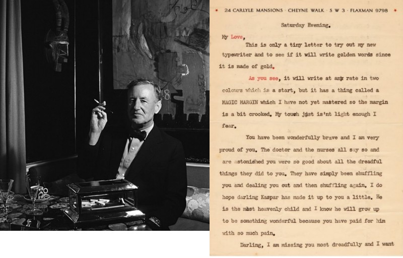 Ian Fleming's Love Letters Written to His Wife, Ann to be Offered at Auction2019