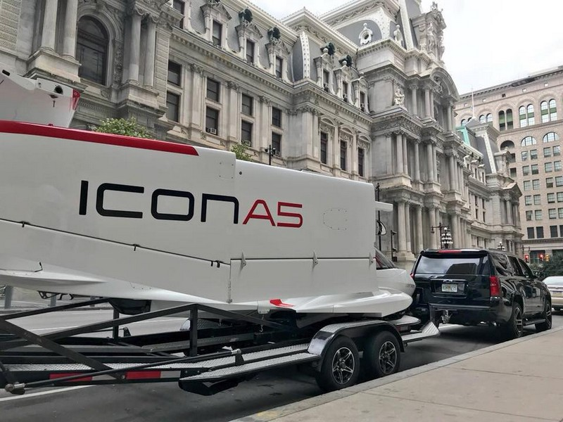 Icon A5 Aircraft -02-on the road
