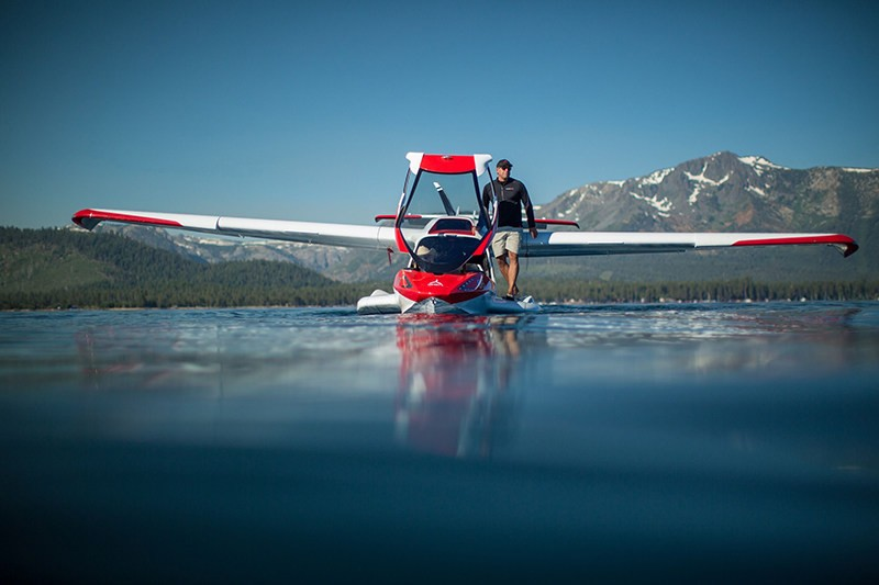 Icon A5 on water