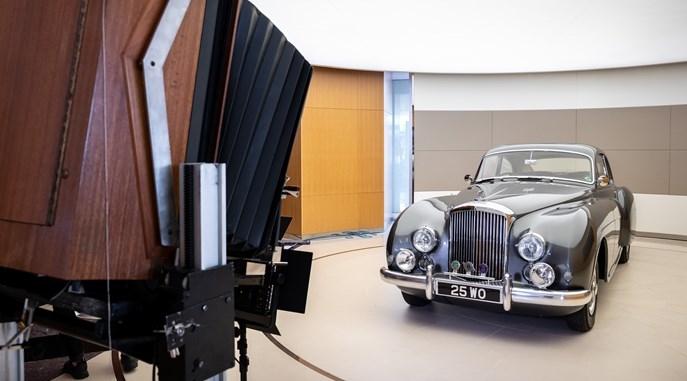 Iconic Polaroid 20x24 Land Camera photographs Bentley models