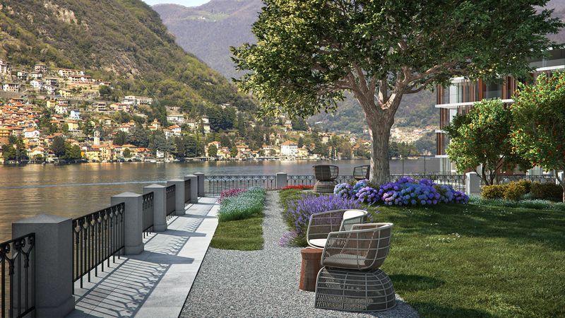 Il Sereno Lago di Como hotel spaces-Lake Como's Newest Hotel Designed by Patricia Urquiola