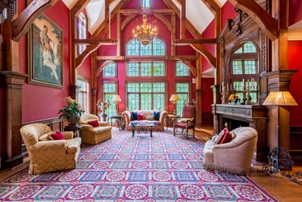 "This impressive home in Marietta, Georgia is very much outfitted for ""today's king and queen"""