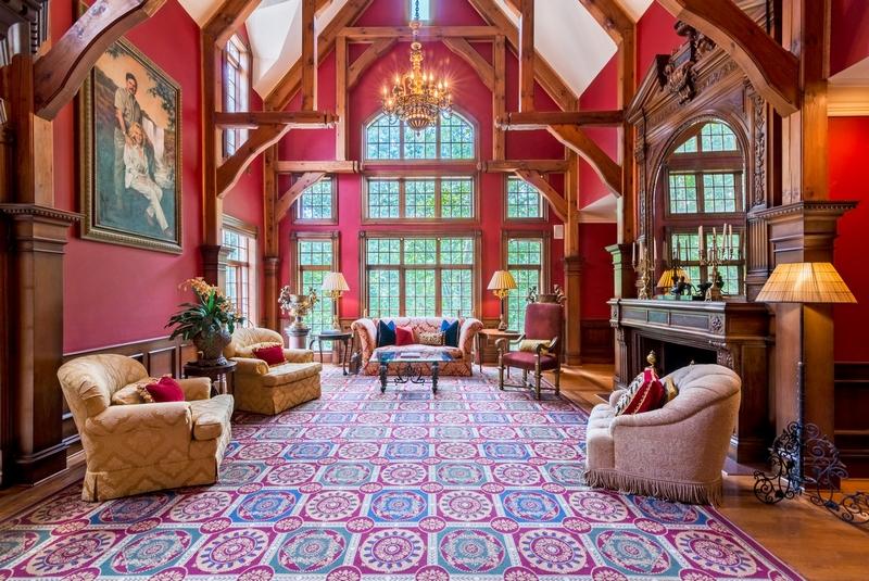 Impressive mansion in Marietta, Georgia-INTERIORS