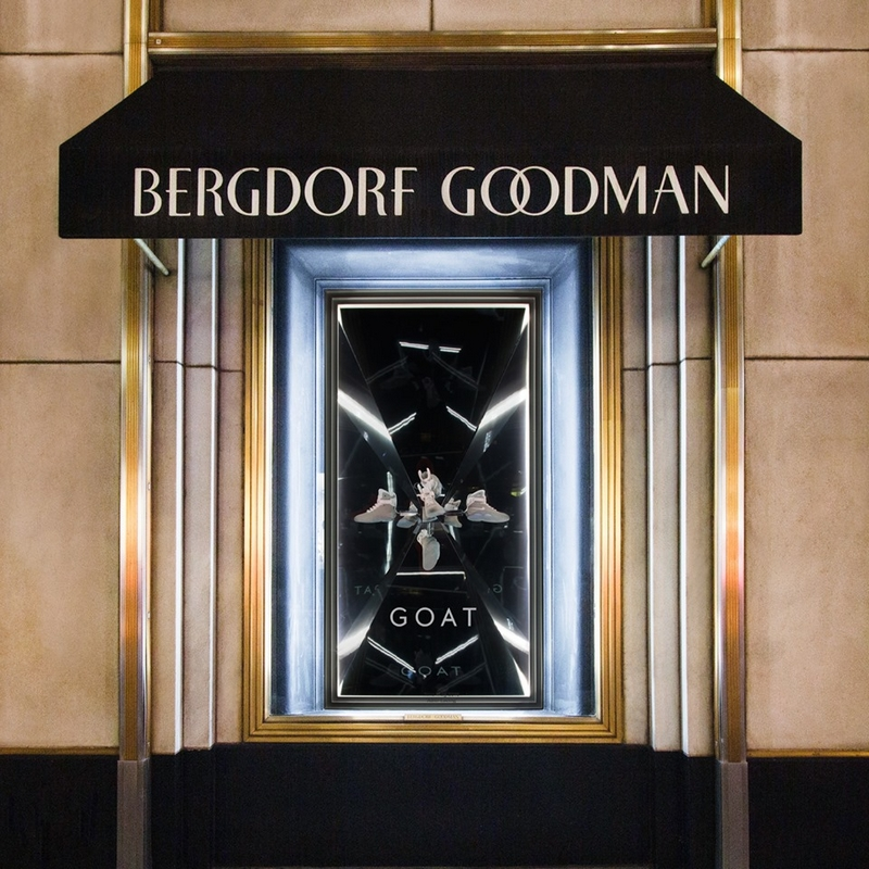 In a singular new collaboration with Bergdorf Goodman, GOAT presents two curated collections of highly sought-after