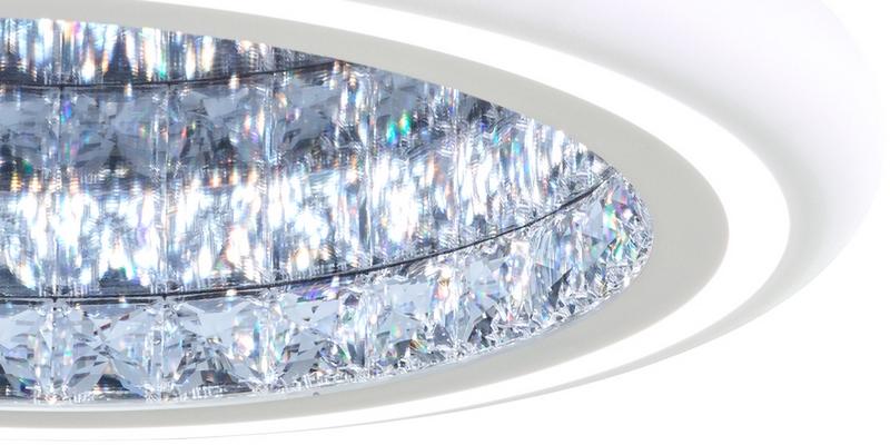 Infinite Aura chandelier work of art