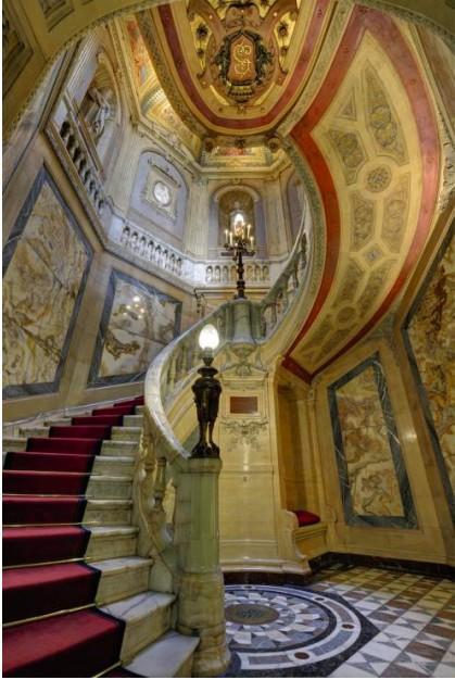 Interiors of La Païva's hotel particulier in Paris
