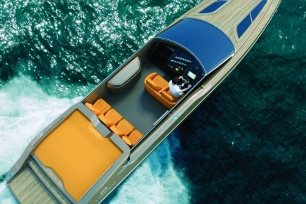 Intermarine 48 Offshore by Viviane Nicoletti or What a high speed boat should be
