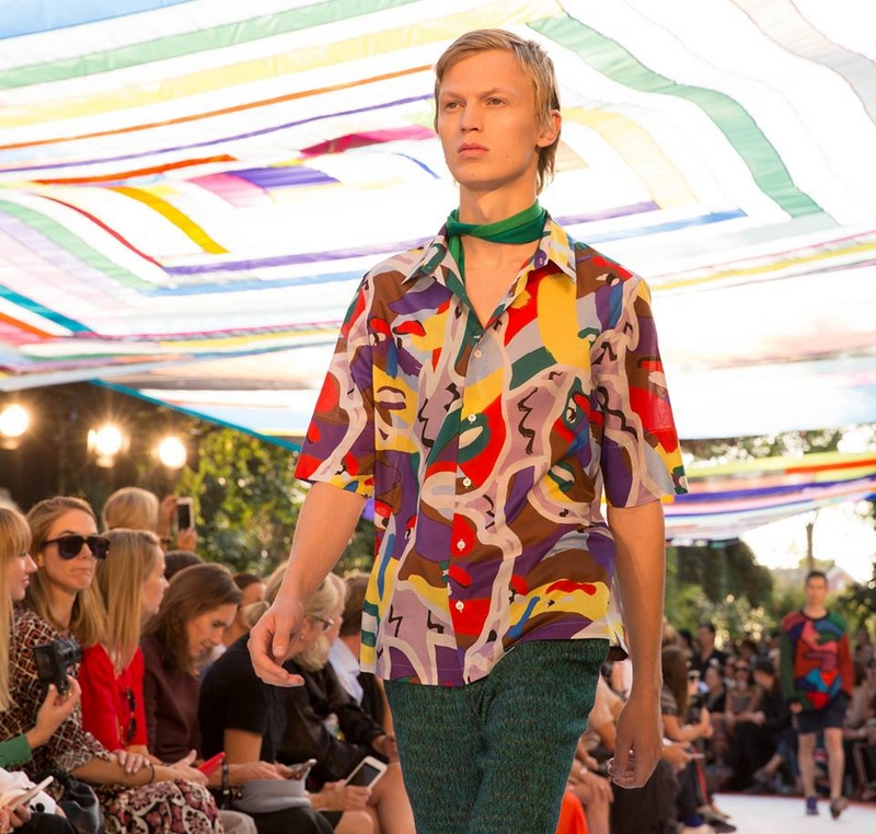 It wouldn't be Missoni without the bold colours