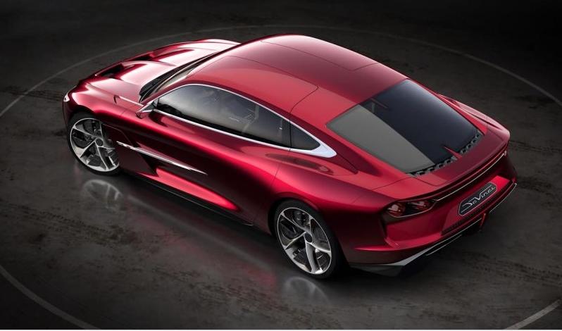 Italdesign DaVinci luxury car