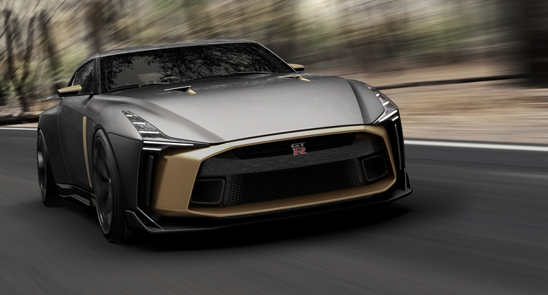 Italdesign creates the ultra-limited Nissan GT-R50 prototype vehicle