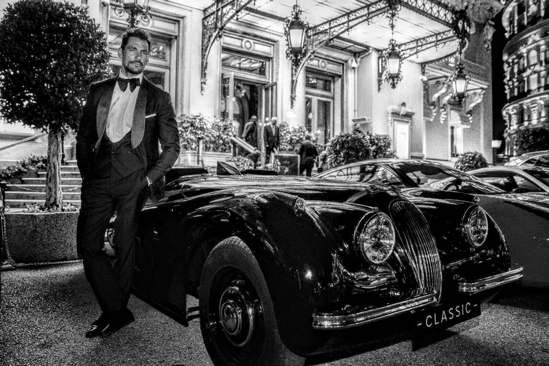 JAGUAR CLASSIC TAILOR-MADE XK120 FOR MALE MODEL DAVID GANDY - 2019