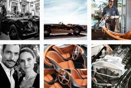 Jaguar Classic and David Gandy restored a 65-year-old XK120 to its former glory