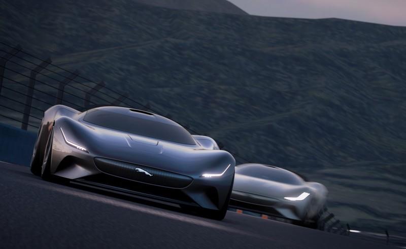 JAGUAR DESIGNS ALL-ELECTRIC VISION GRAN TURISMO RACE CAR FOR GRAN TURISMO SPORT