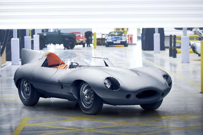 JAGUAR RESTARTS PRODUCTION OF LEGENDARY D-TYPE RACE CAR