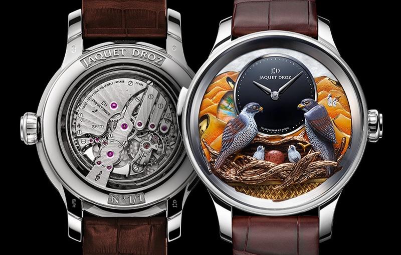 JAQUET DROZ BIRD REPEATER FALCON-watch