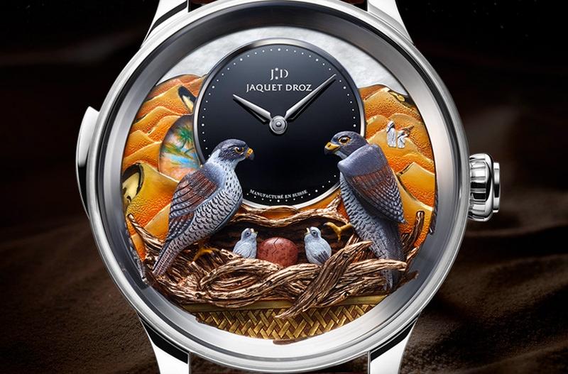 JAQUET DROZ BIRD REPEATER FALCON