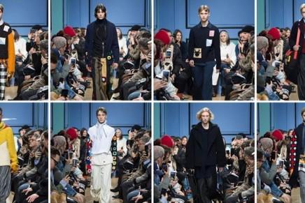 JW Anderson offers a joyful distraction in London menswear show