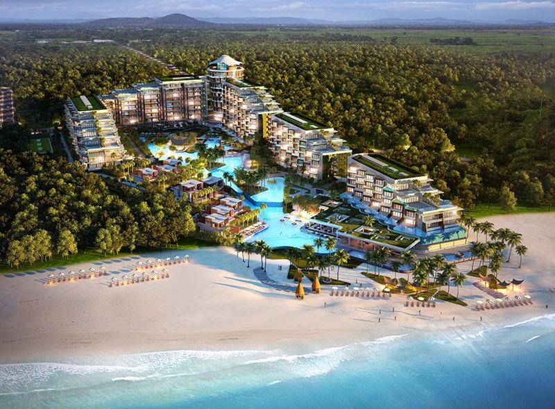 JW Marriott Phu Quoc, Emerald Bay Debuts On Vietnam's Pristine Island Oasis-renderings