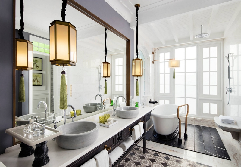 JW Marriott Phu Quoc Emerald Bay Resort & Spa - Three-Bedroom Villa – Guest Bathroom
